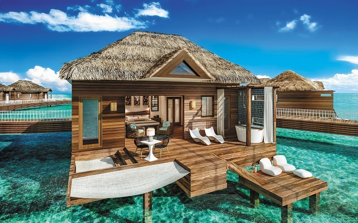 Sandals to add new over-the-water suites in the Caribbean