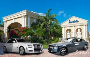 Sandals Royal Bahamian offers Rolls Royce service to guests
