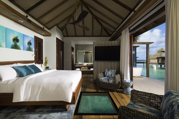 Sandals Royal Caribbean opens first over-the-water bungalows
