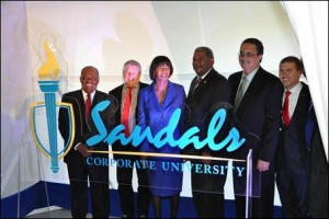 Sandals launches corporate university