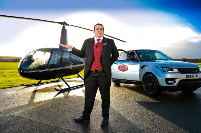 Grand Hotel & Spa, York, launches helicopter transfers