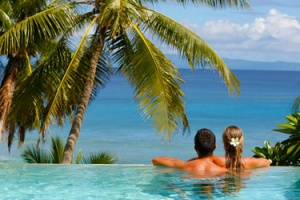 Honeymoon holidays at Taveuni Palms