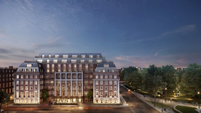 Twenty Grosvenor Square, a Four Seasons Residence, to debut in London in 2018