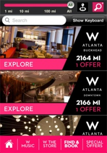 W Hotels launches iPhone app with huge music offering