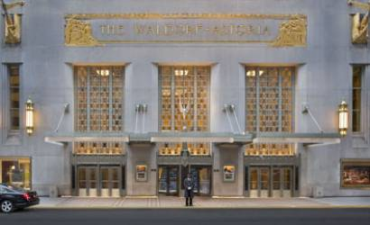 Gun accidentally fires at Waldorf Astoria Hotel New York