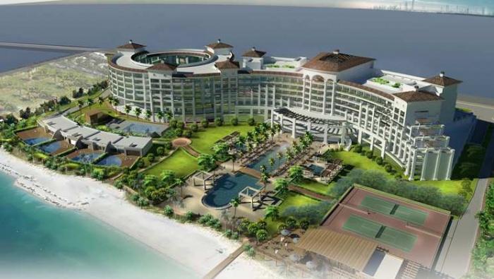 Waldorf astoria dubai palm jumeirah set for january 2014 for Astoria hotel dubai
