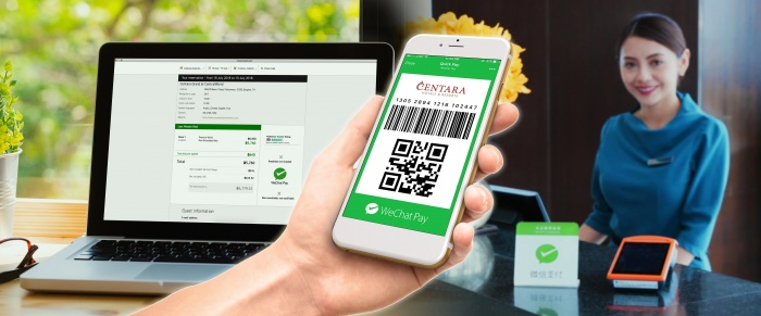 Centara introduces WeChat Pay to woo Chinese guests