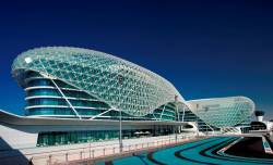 Abu Dhabi woos guests at ATM with Etihad Airways Grand Prix tickets