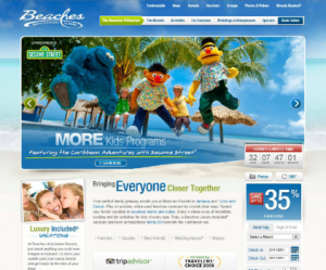 Beaches Resorts unveils updated website