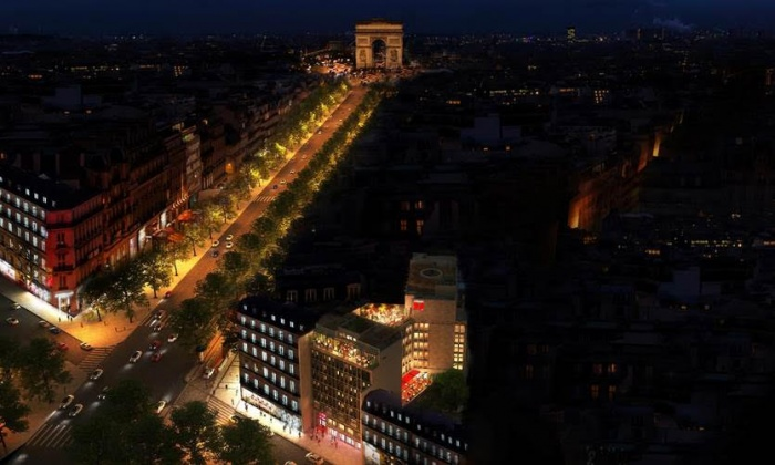 citizenM to open new Champs-Élysées property