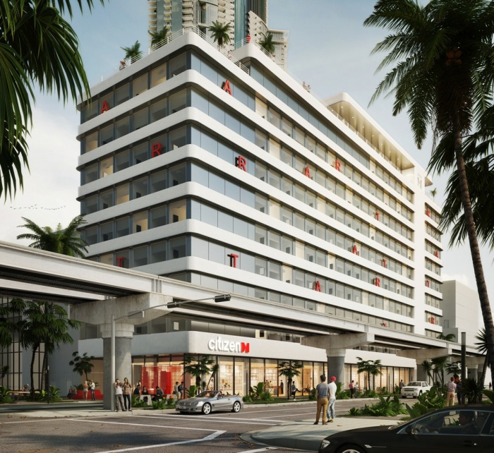 citizenM unveils Worldcenter property in Miami