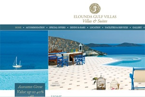 New website launch for Elounda Gulf Villas & Suites