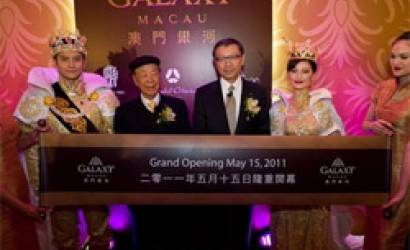 Galaxy Macau Grand opening countdown begins