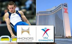 USA Gymnastics and Hilton Worldwide announce partnership through 2012