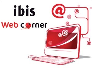 In 2010 ibis launches the Web Corner