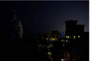Jumeirah dims down for Earth Hour