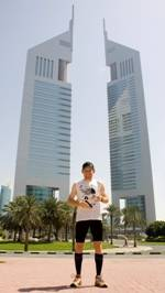 Vertical Marathon runners raise the bar for Jumeirah Emirates Towers' tenth birthday