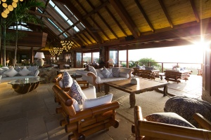 First images of the new Great House on Necker Island