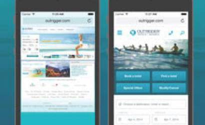 Outrigger drives 86% more mobile bookings