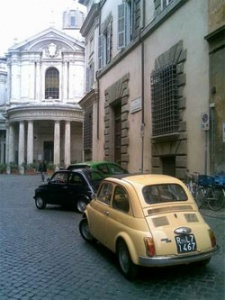 Rome Cavalieri Adds Va Va Vroom With A Fleet Of FIAT 500s