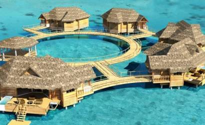 Sandals plans overwater villas at Royal Caribbean resort