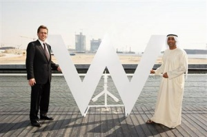 Eight out of nine Starwood Brand Flags fly in the Middle East
