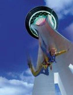 The Stratosphere Las Vegas Hotel & Casino to Add World's Highest 'Skyjump' to Collection of Thrills