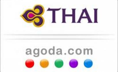 THAI chooses agoda.com to introduce hotel booking services
