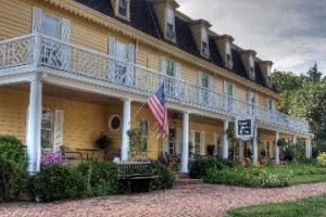 British Hotelier and celebrity chef revive fortunes of America's oldest inn