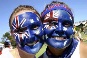 On 26th January Australians celebrate Australia Day, a national holiday.