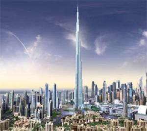 Seawings provides unsurpassed views of the Burj Dubai