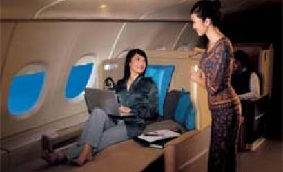 Slump easing as biz class demand improves