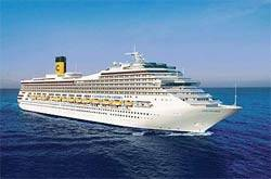 Costa Cruises has golfing down to a tee