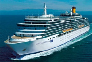 Costa Deliziosa to be named in Dubai on 23 February
