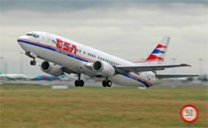 Czech Airlines agreed to code-share cooperation with China Eastern Airlines