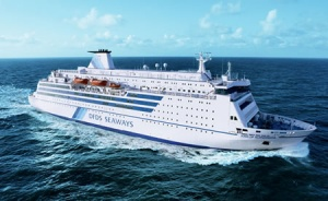 DFDS Norfolkline share the water of life with Europe