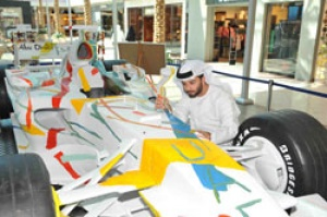 The Art of racing kicks off live in Abu Dhabi