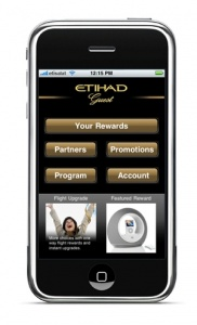 Etihad launches new iphone application for Etihad guest members