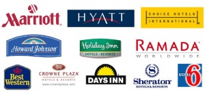 Ranking of hotel brands in Europe as of January 2011
