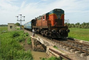 Indian railways carry 803.50 million tonnes of freight during April 2009-February 2010