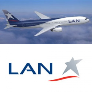 LAN Airlines monthly statistics report for March 2010