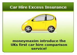 Launch of the UK's first car hire insurance comparison search engine