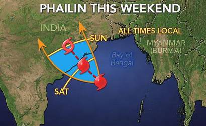 Tropical Cyclone to severely impact India this weekend