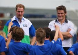 Royal visit highlights New Zealand as host nation for Rugby World Cup 2011