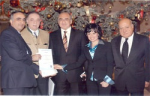 Sheraton Cairo Hotel granted HACCP ISO 9001 & Cristal Certificate of Excellence