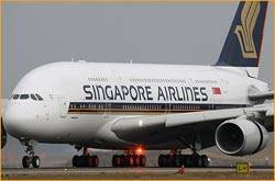 Singapore Airlines' A380 to fly to Zurich