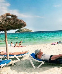 Brits were determined to take annual summer holiday despite the economic climate