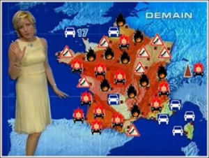 Brits take weather obsession abroad