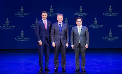Beckham on hand to reveal details of upcoming the Londoner Macao
