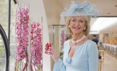 VisitEngland chairman Lady Cobham receives CBE from Prince of Wales